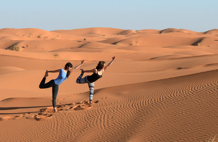 Desert Escape: An Eco-Luxe Yoga Retreat Amidst Mountains, Sea and Sand
