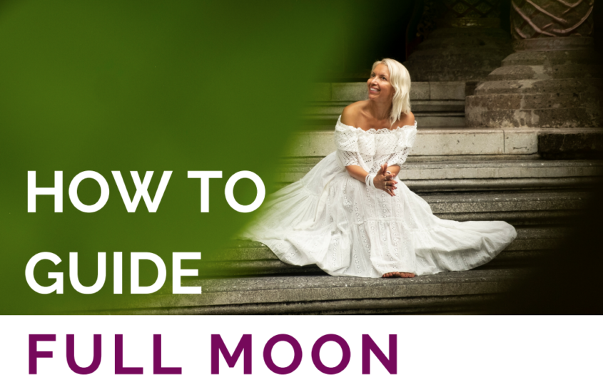How to guide full moon ritual