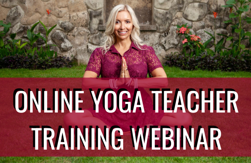 Video about online yoga teacher training (replay INfo session)