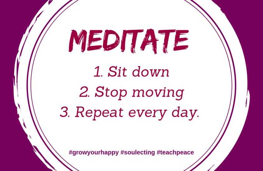 WHY DO I TEACH MEDITATION?